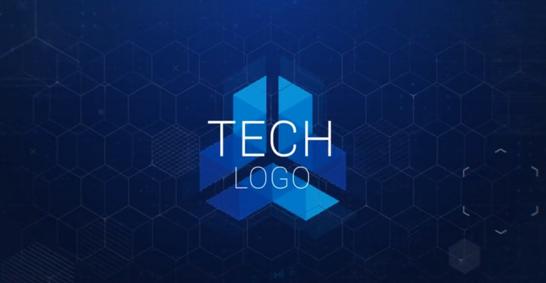 tech-logo-after-effects-template 30+ Best After Effects Intro Templates design tips