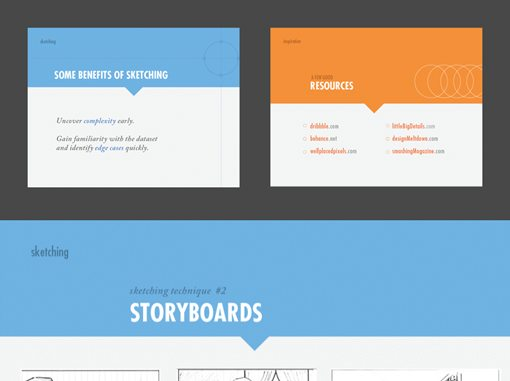 5 gorgeous note & point presentations you have to see | design shack, Powerpoint templates