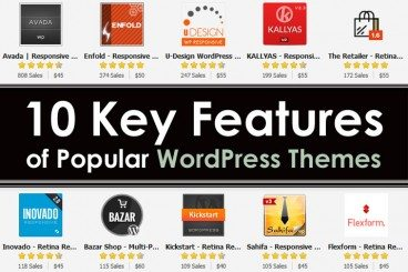 10 Key Features of Popular WordPress Themes