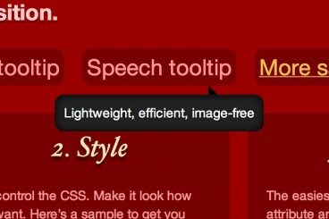 25 Useful Resources for Creating Tooltips With JavaScript or CSS