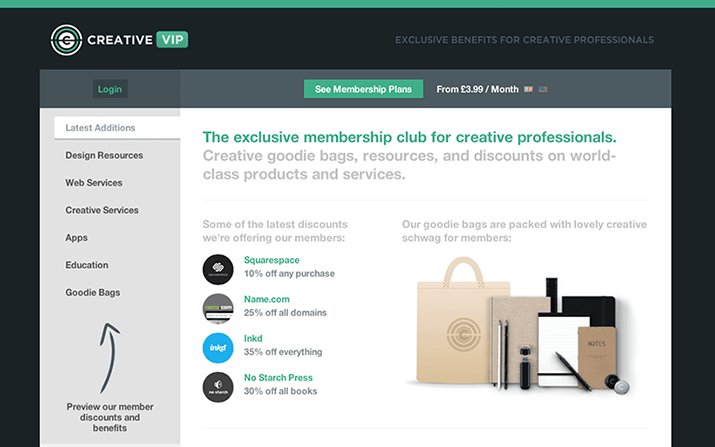 Introducing Creative VIP: The Exclusive Membership for Creative Professionals