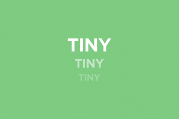 Tiny Text: 6 Ways to Use It Effectively in Web Design