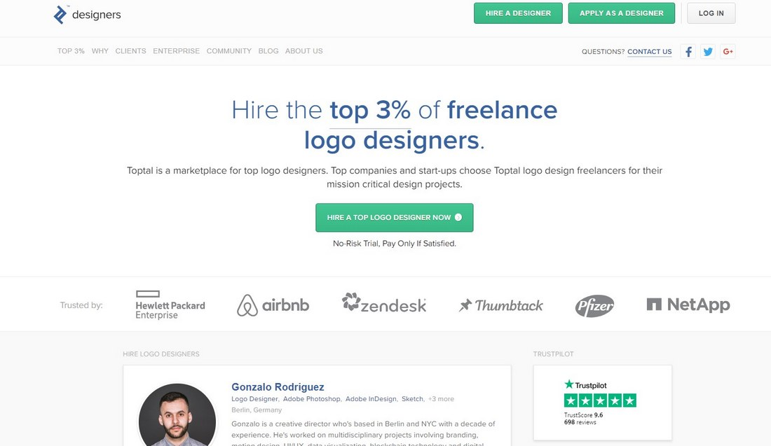 toptal designers