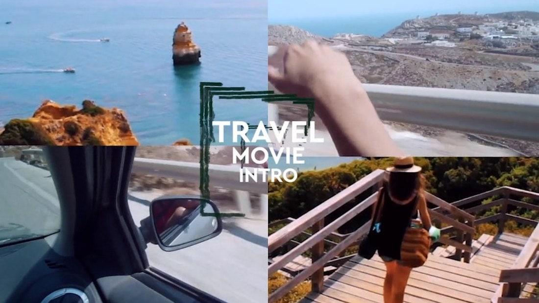 travel - premiere pro intro template
