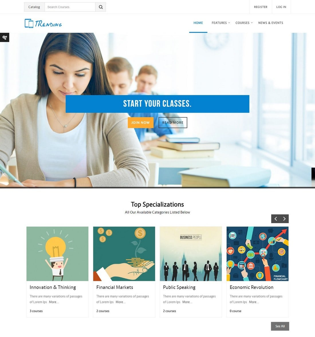 trending-moodle-theme 15+ Best Moodle Themes of 2019 design tips