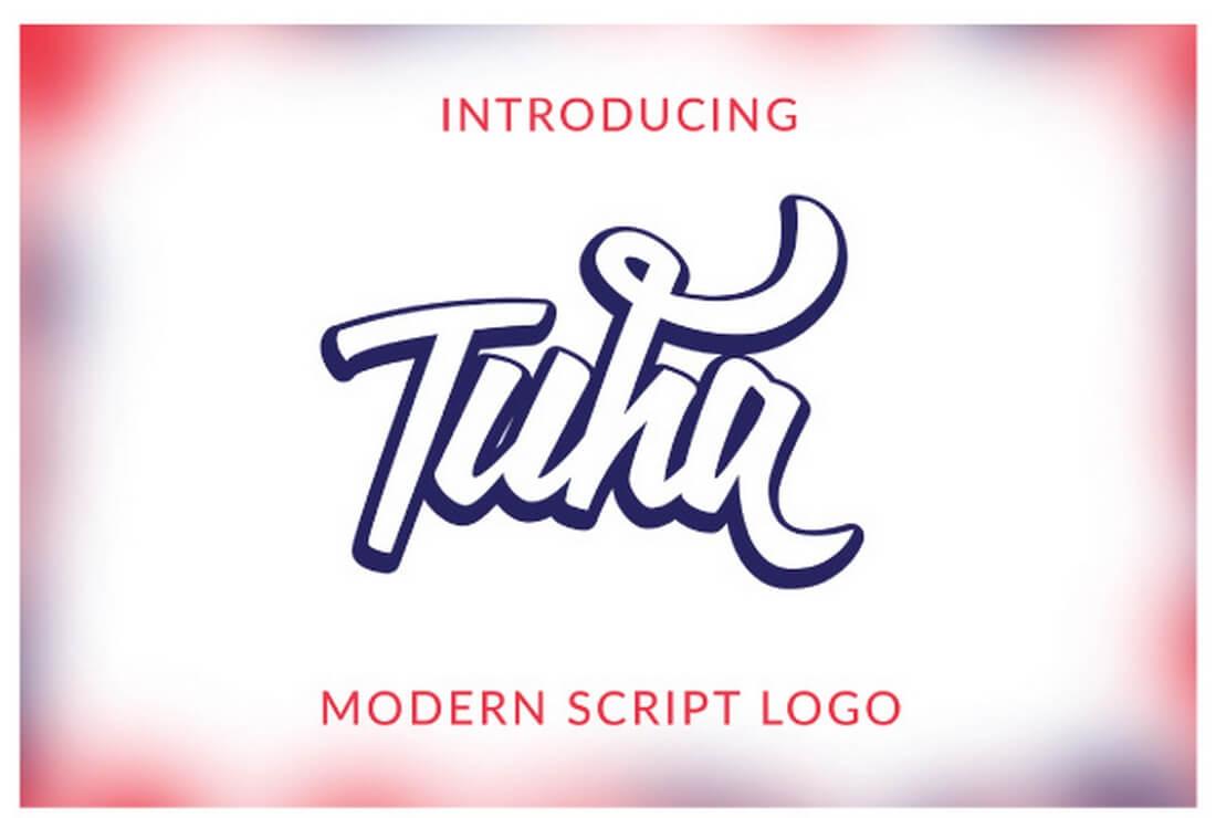 tuha 30+ Best Hand Lettering Fonts design tips