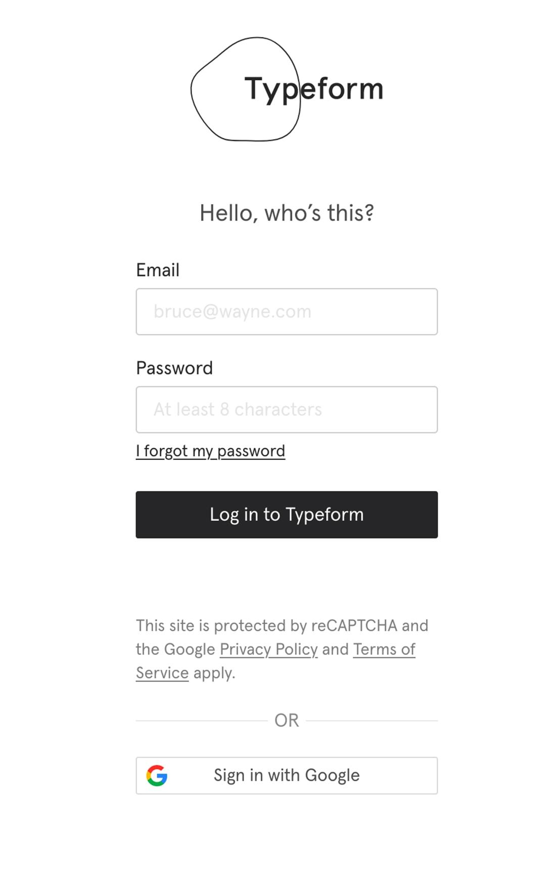 design online form
