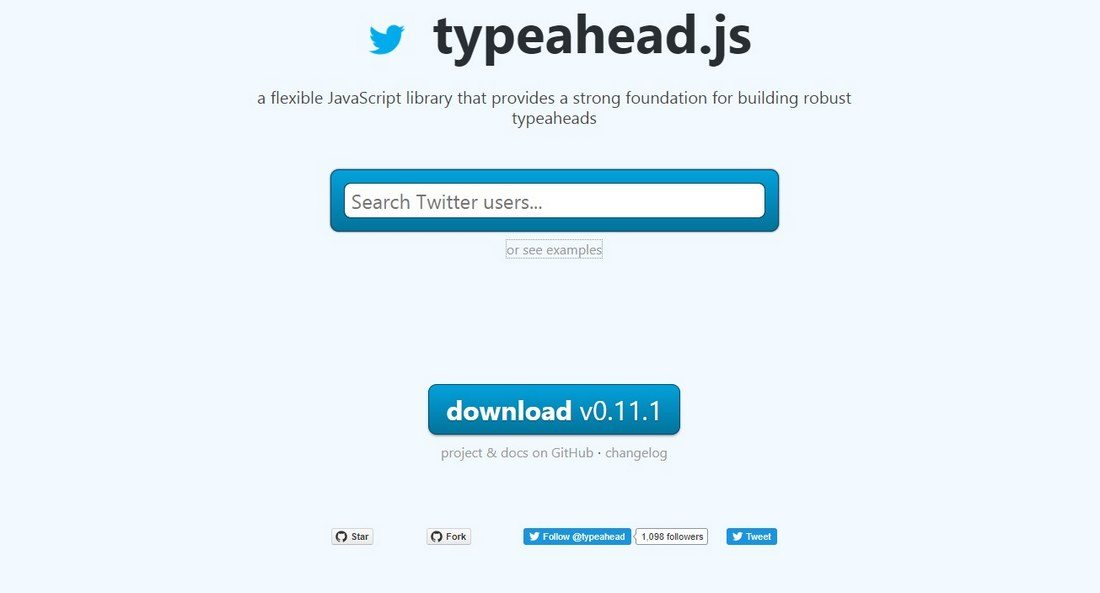 typehead 20+ Awesome Resources for Bootstrap Lovers design tips