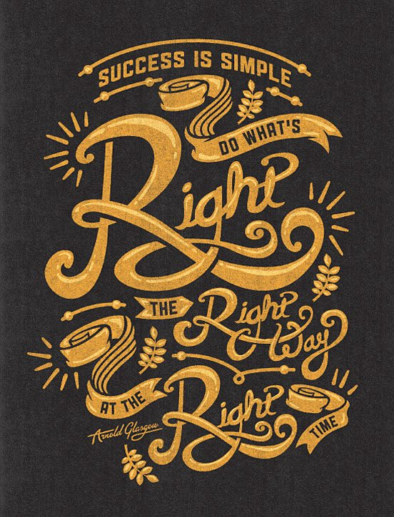 typography-poster-51 Typographic Posters: 100 Stunning Examples design tips