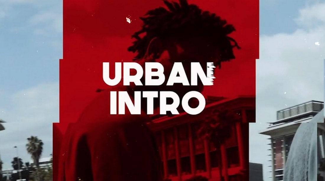 urban intro - premiere pro intro template