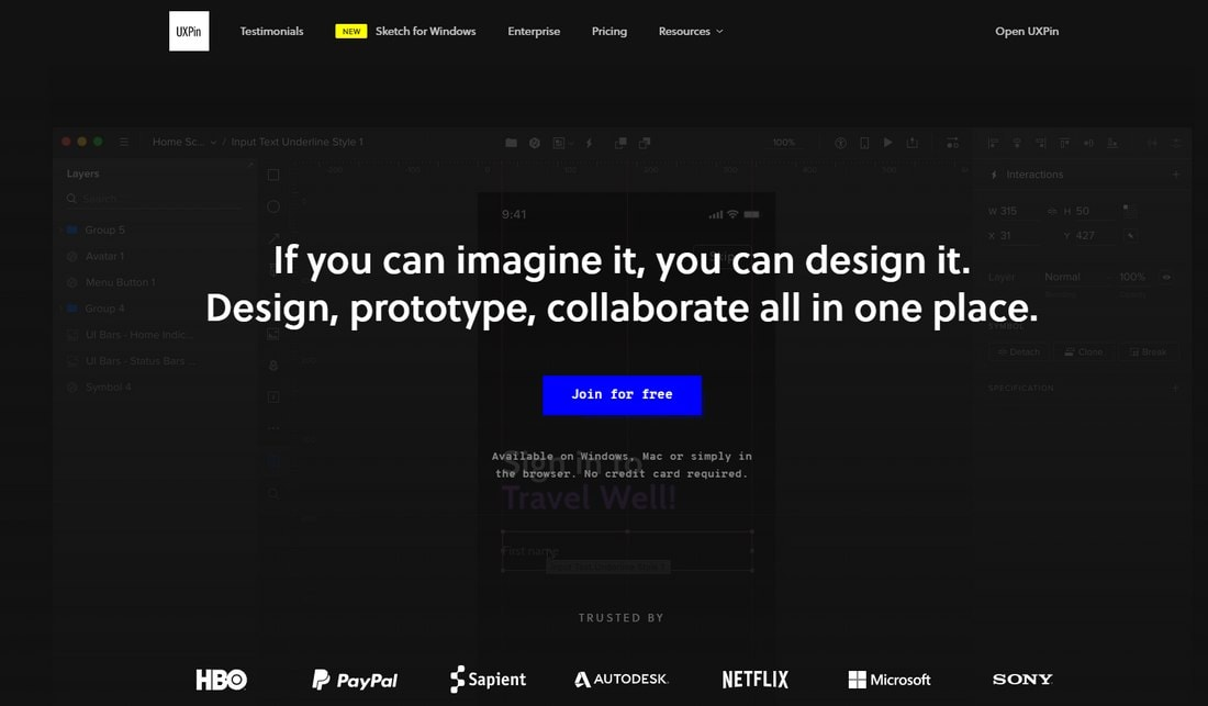 uxpin 10 Best Prototyping Tools for Designers 2020 design tips  Software