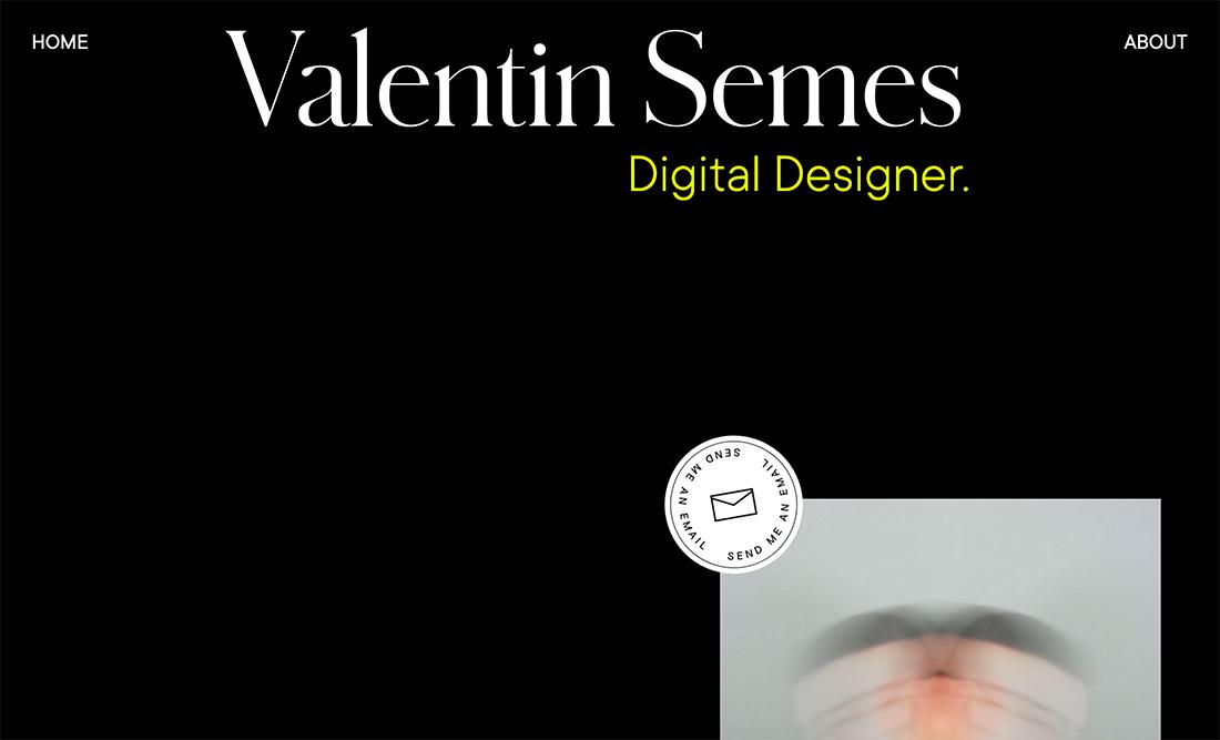 valentin 20+ Portfolio Design Trends in 2020 design tips