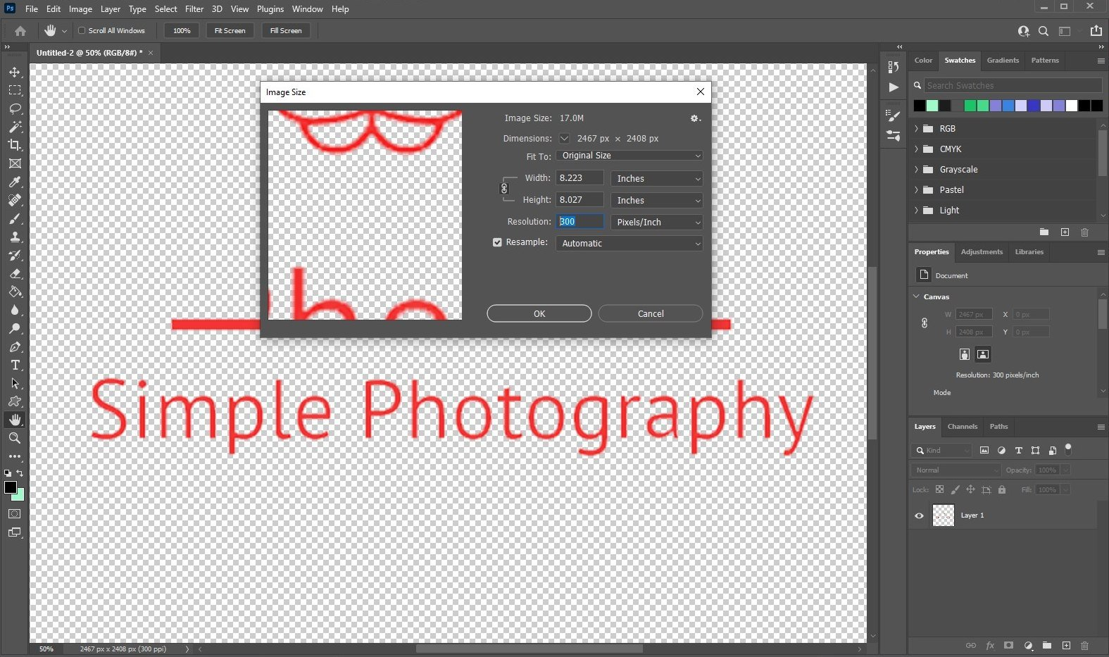 vectorize image in Photoshop - 1
