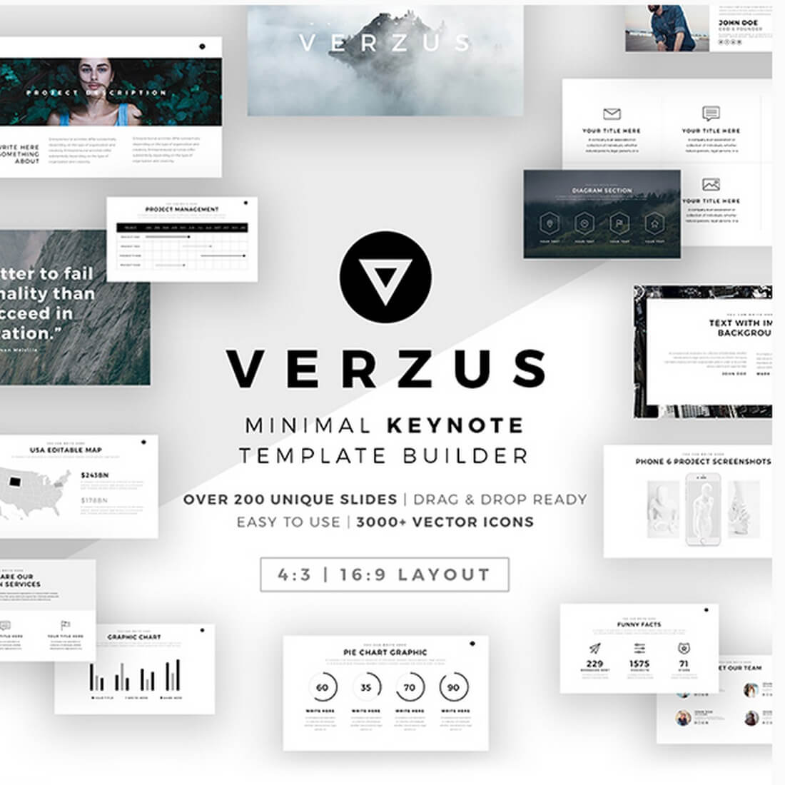 verzus 30+ Best Keynote Templates of 2018 design tips