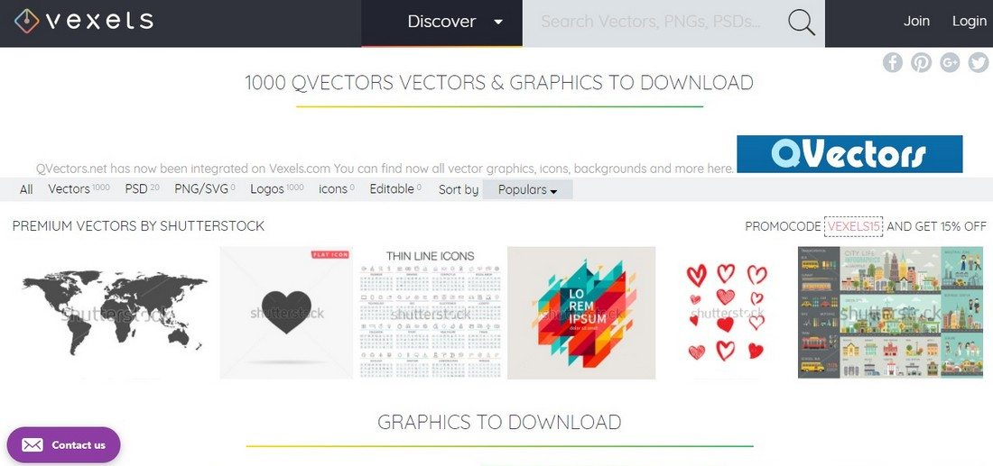 you can download a wide variety of free vectors from this new site everything from decorative vectors to infographics and icons can be found in vexels