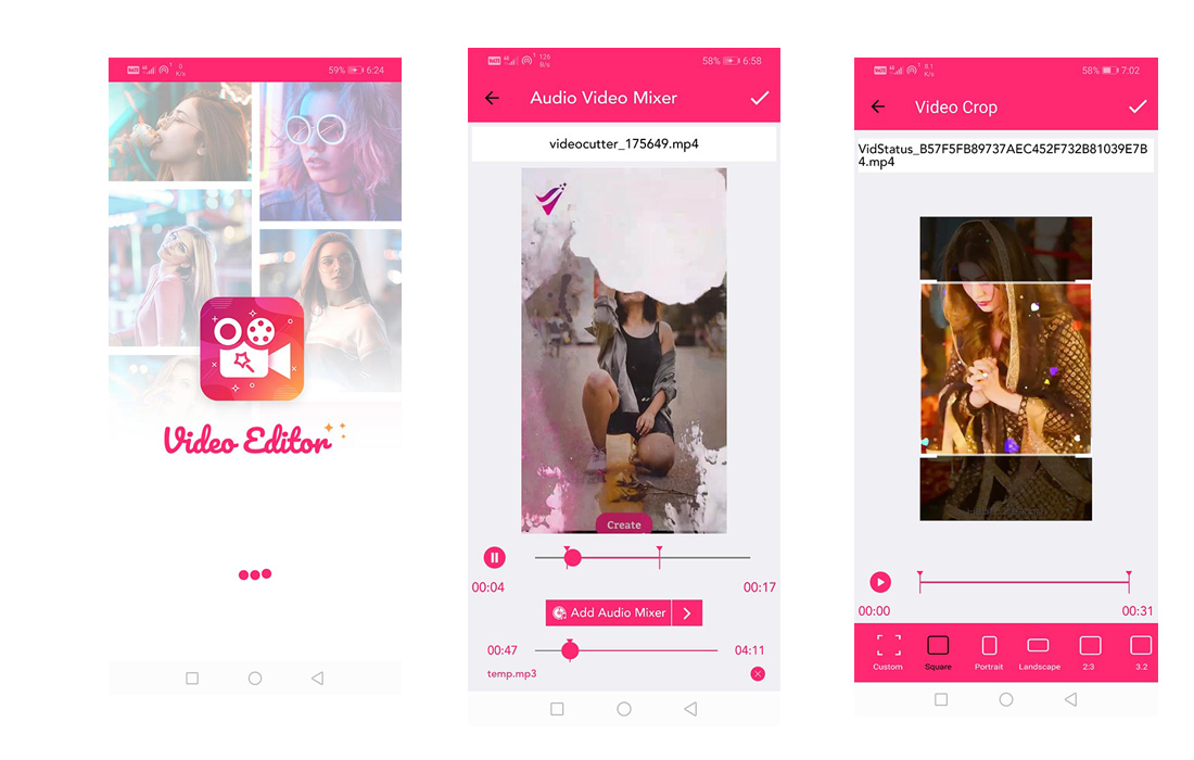 video-editor-app 20+ Best Android App Templates (For Mobile Apps) 2021 design tips
