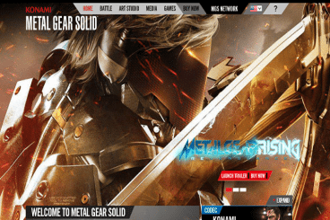 15 Delightful, Immersive Video Game Website Designs