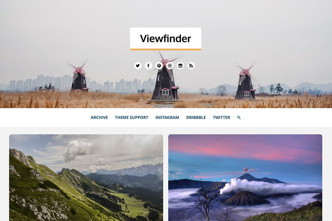 Viewfinder Theme