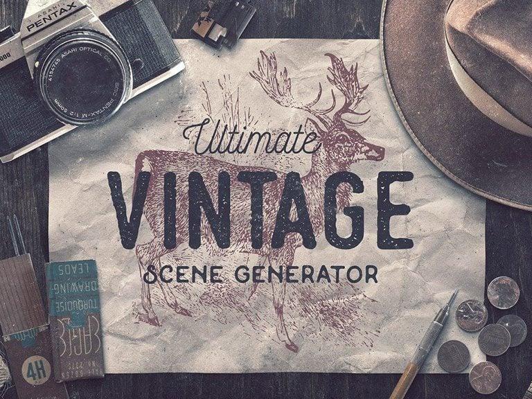 40  stunning vintage mockup packs  u0026 graphics