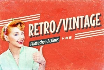 40+ Best Vintage & Retro Photoshop Actions & Effects