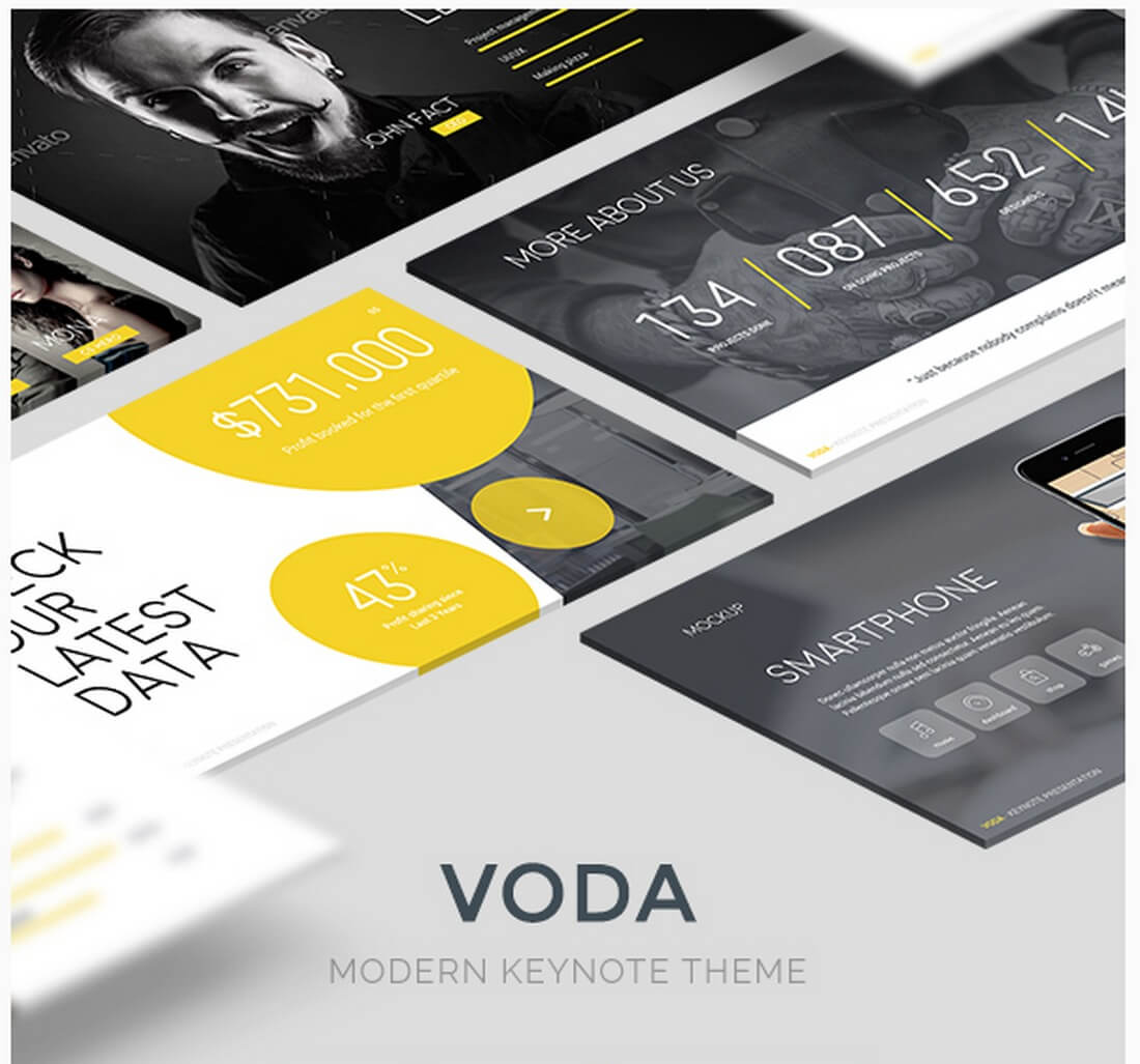 voda 30+ Best Keynote Templates of 2018 design tips