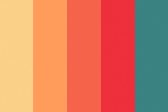 How To Use Warm Color In Design Projects Design Shack