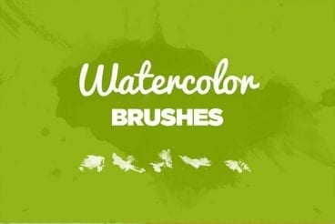 30+ Best Photoshop Watercolor Brushes (Free & Premium)
