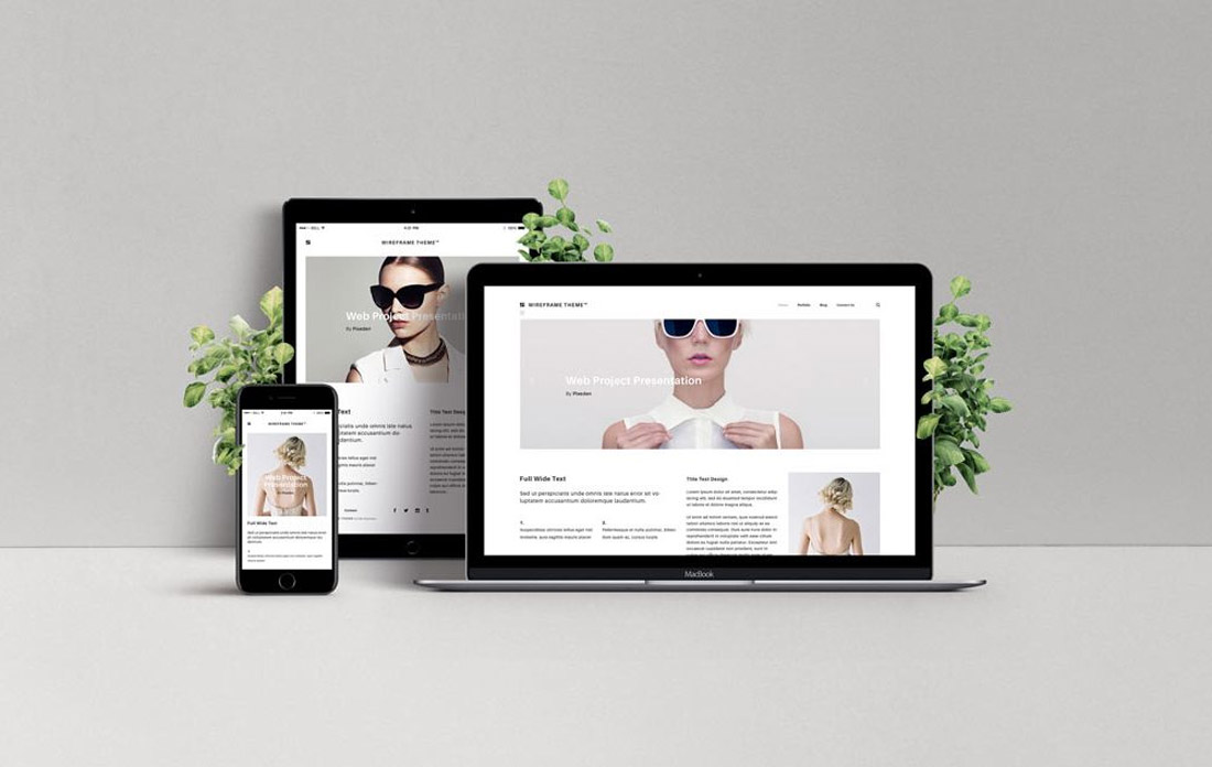 web-mockup1 How to Customize a Website Mockup Template design tips