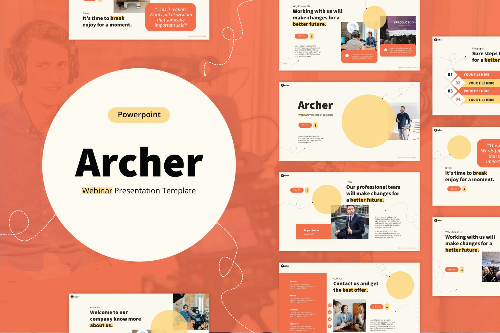 webinar powerpoint template
