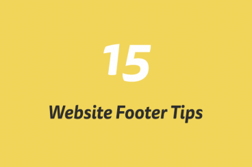 15 Tips for Creating a Great Website Footer