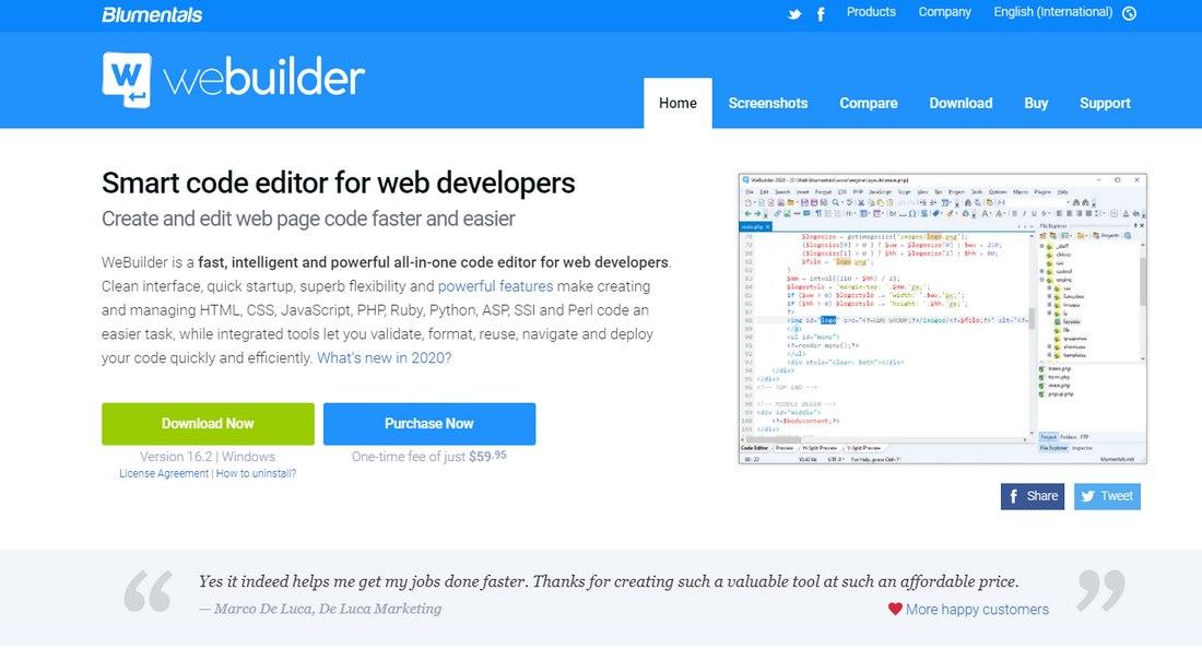 webuilder 8 Best Code Editors for Designers in 2020 (Free & Premium) design tips