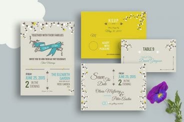 10 Design Tips for Wedding Cards & Invitations