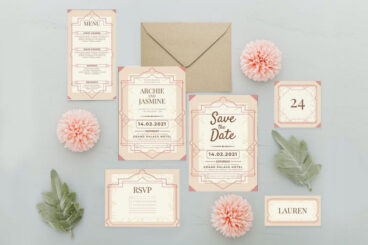10 Best Wedding Color Schemes for Invitations & Stationery (+ Examples)