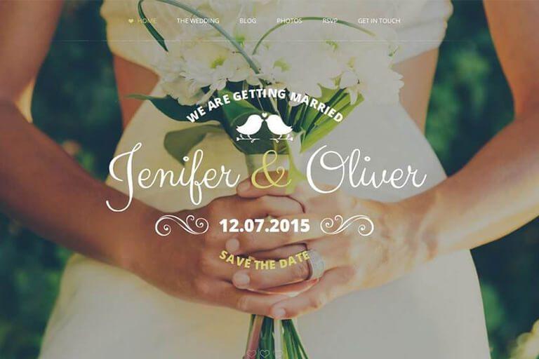 15+ Best Wedding HTML Templates