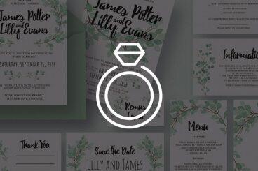 65+ Gorgeous Wedding Invitation Templates
