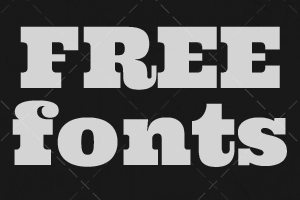 Weekly Freebies: 15 Fantastically Fat Free Fonts