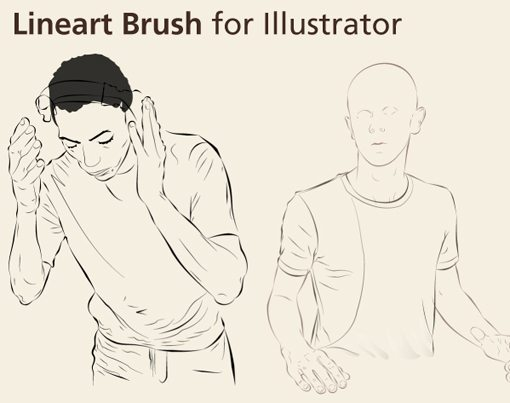 Weekly Freebies: 50 Outstanding Free Illustrator Brush Sets | Design
