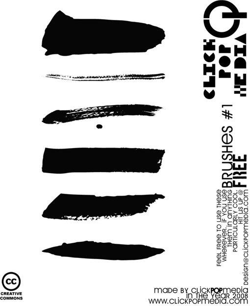 Weekly Freebies 50 Outstanding Free Illustrator Brush Sets Design