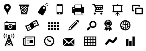 weekly freebies  12 free icon fonts perfect for web design
