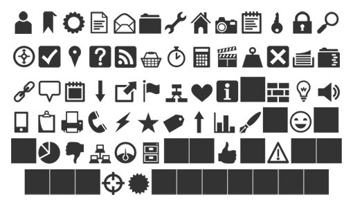 Weekly Freebies 12 Free Icon Fonts Perfect For Web Design Design