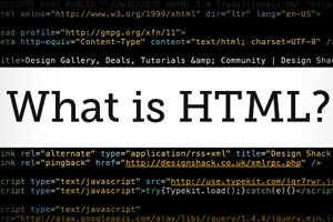 What Is HTML? Back to Basics