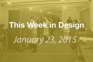 This Week in Design: Jan. 23, 2014
