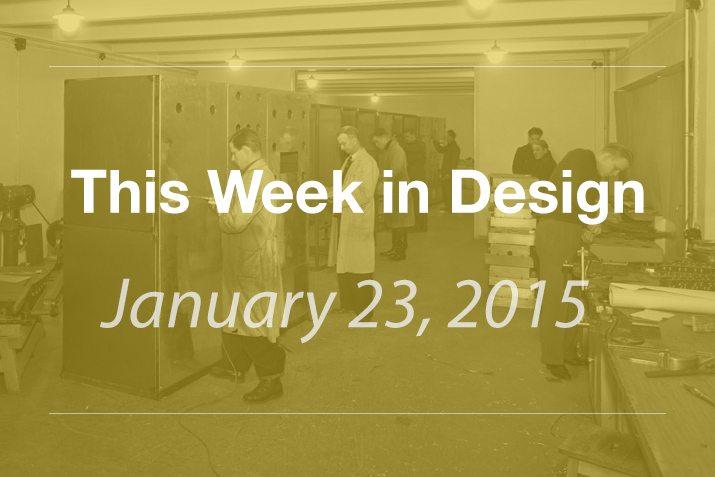 This Week in Design: Jan. 23, 2014
