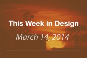 This Week in Design: March 14, 2014