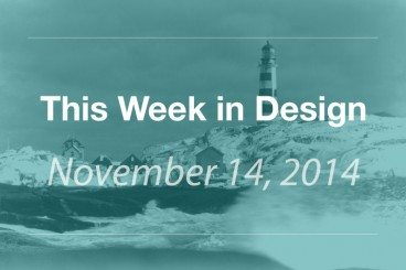 This Week in Design: Nov. 14, 2014