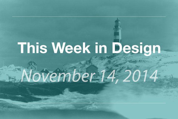 This Week in Design: Nov. 14, 2014