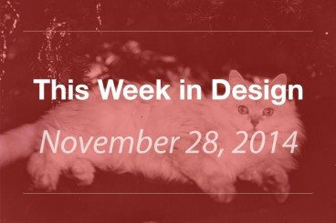 This Week in Design: Nov. 28, 2014
