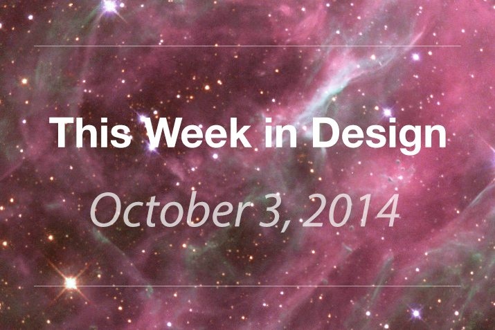 This Week in Design: Oct. 3, 2014