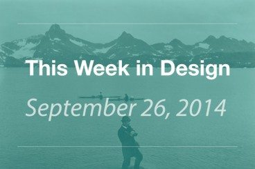 This Week in Design: September 26, 2014
