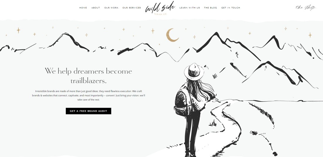 wild-side 15+ Creative Website Header Design Examples + Tips design tips  Layouts